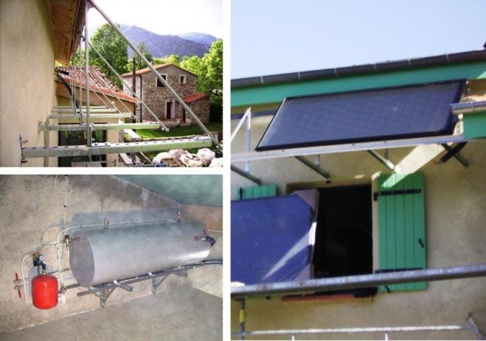Installation d'un chauffe eau solaire thermodynamique Calpak à Fillols Pyrénées-Oriantales-Pyrénées Orientales (66)