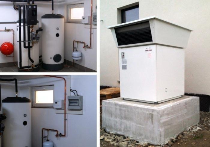 ets rehaplus pompe chaleur pac air eau a rothermie de marque stiebel eltron. Black Bedroom Furniture Sets. Home Design Ideas