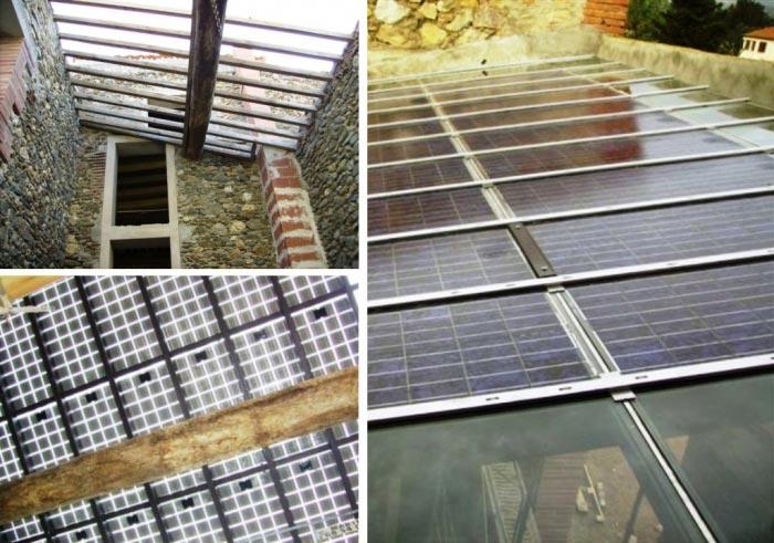 Installation d'une verrière photovoltaïque à Terrats 66 Pyrénées-Oriantales-Pyrénées Orientales (66)