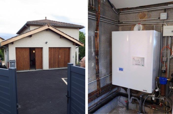 Chaudière Gaz naturel à Condensation Frisquet Hydroconfort à Jassans-Riottier - 01 AIN