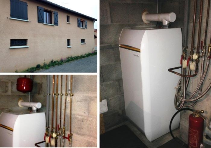 Chaudière Gaz naturel à condensation à ventouse De Dietrich à Jassans-Riottier - 01 Ain