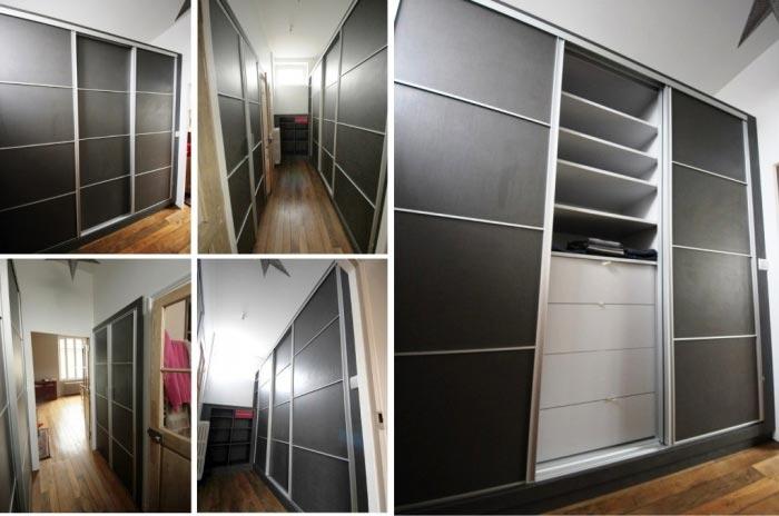 ateliers aigret gosset sarl dressing avec portes. Black Bedroom Furniture Sets. Home Design Ideas