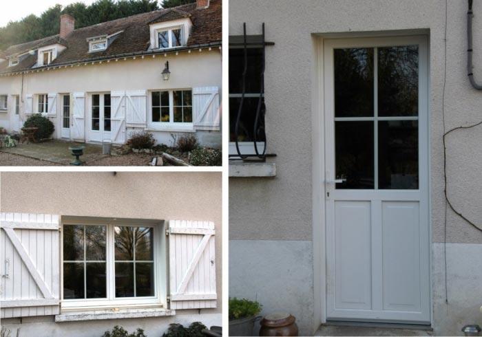 Ateliers Aigret Gosset Sarl Fenêtre Et Porte Dentrée Pvc Texturée