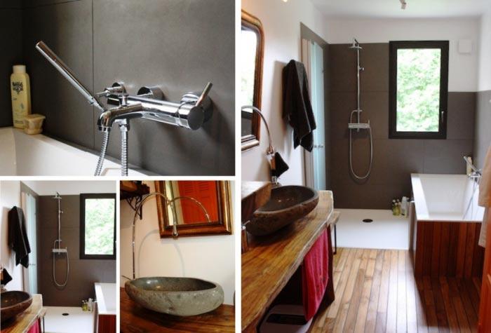 Ets LB Energies - Rénovation totale d\'une salle de bain avec parquet ...
