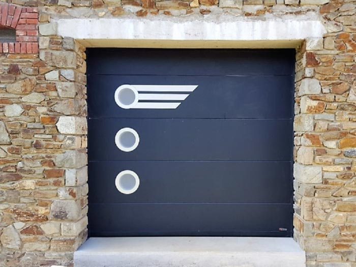 Ets 1000 ty services porte de garage aludoor mod le for Porte de garage aludoor