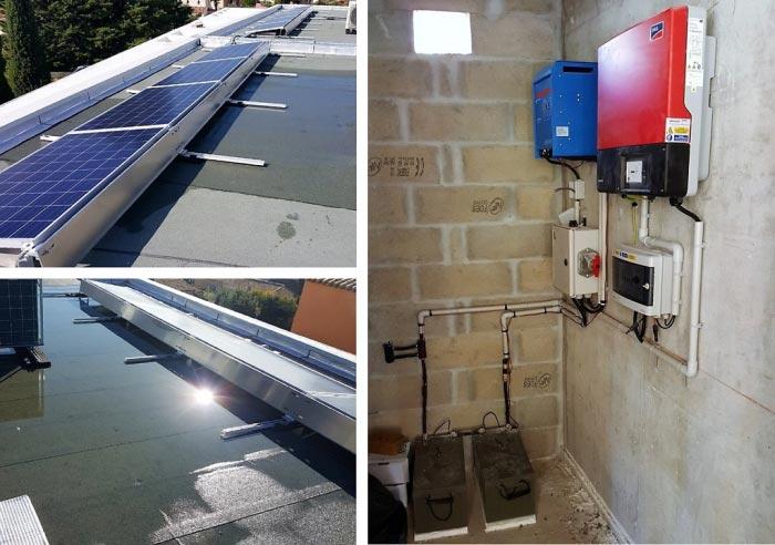 Solaire photovoltaïque en autoconsommation Axitec et VMC
