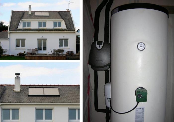 vente installation chauffe eau solaire marque Chappée 29360 clohars-carnoet-Finistère (29)