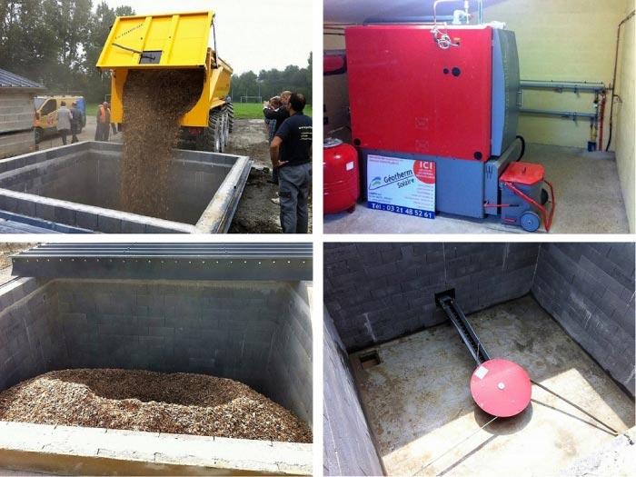 Installation chaudière bois dechiqueté plaquettes Hargassner-Pas de Calais (62)