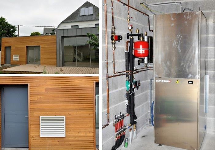 Pompe à chaleur air-eau Amzair