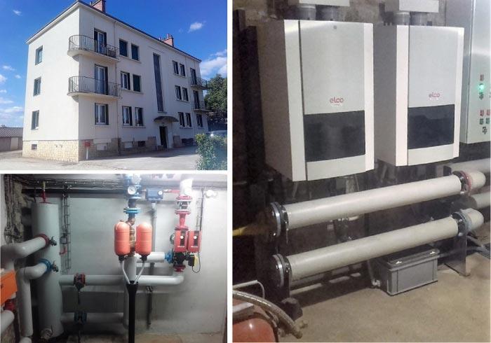 Chaudière Gaz Condensation Elco à Chatillon s/s 21 Cote-d'Or région Bourgogne