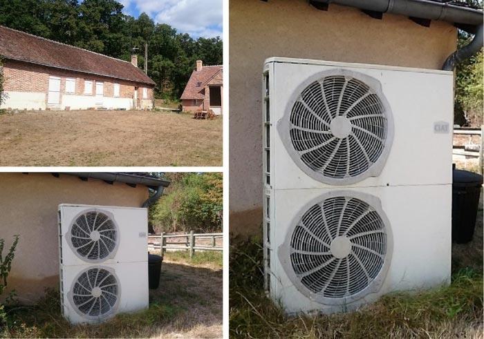 Dépannage pompe à chaleur Ciat Aqualise à Cerdon 45 Loiret
