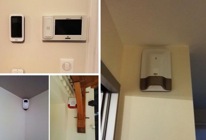 Alarme intrusion  DELTADORE pour une maison