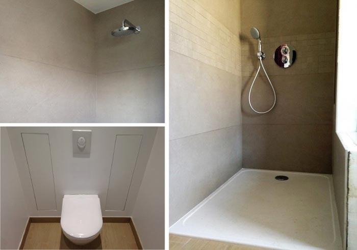 Salle de bain à Heillecourt 54180 Meurthe et Moselle