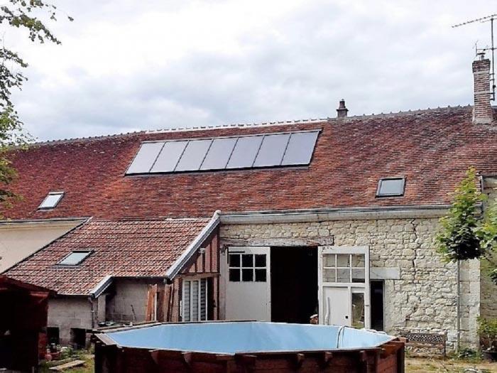 Chauffage solaire GASOKOL à Seigy, Loir et Cher (41)