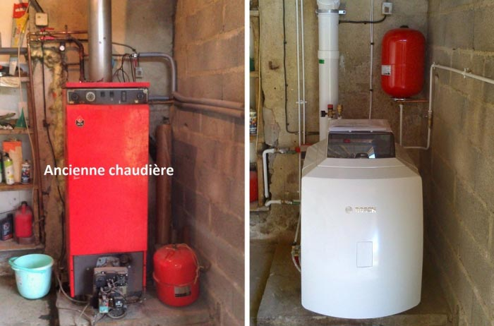 Chauffagiste RGE dans l'Oise - Pose de chaudière fioul à condensation