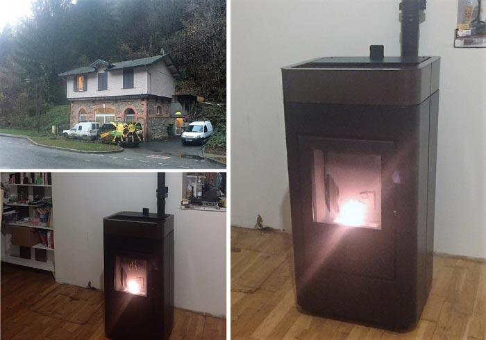 bio nergie installation d 39 un po le bois granul s mcz. Black Bedroom Furniture Sets. Home Design Ideas