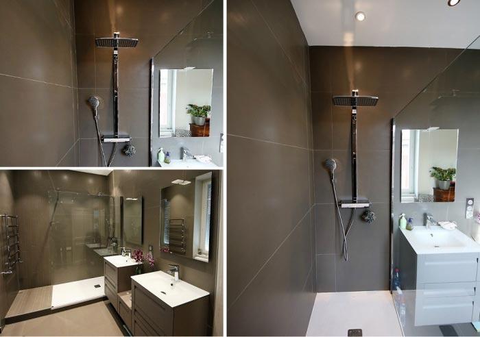 Ets Jean Butaud - Rénovation grande salle de bains - LYON (69)