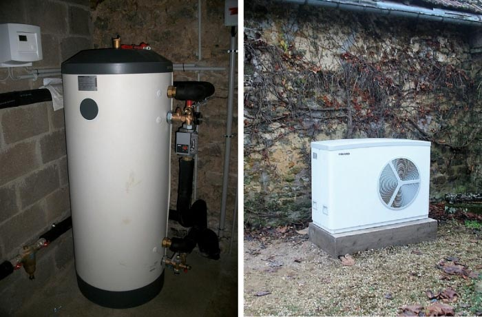 Pompe à chaleur ( PAC ) Air-eau ( aérothermie ) de marque Stiebel Eltron à HORTES 52 Région Haute Marne