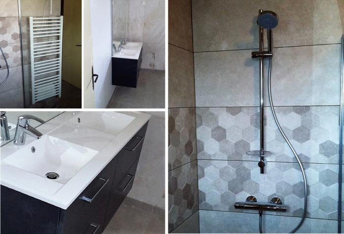Plombier - réfection salle de bain