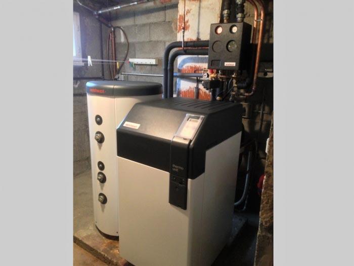 Chaudiere condensation fuel