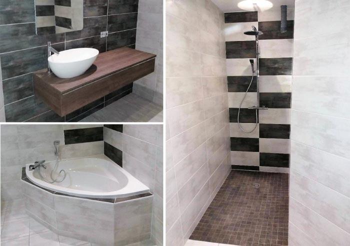 Salle de bain clé en main à Mirecourt 88500 Vosges