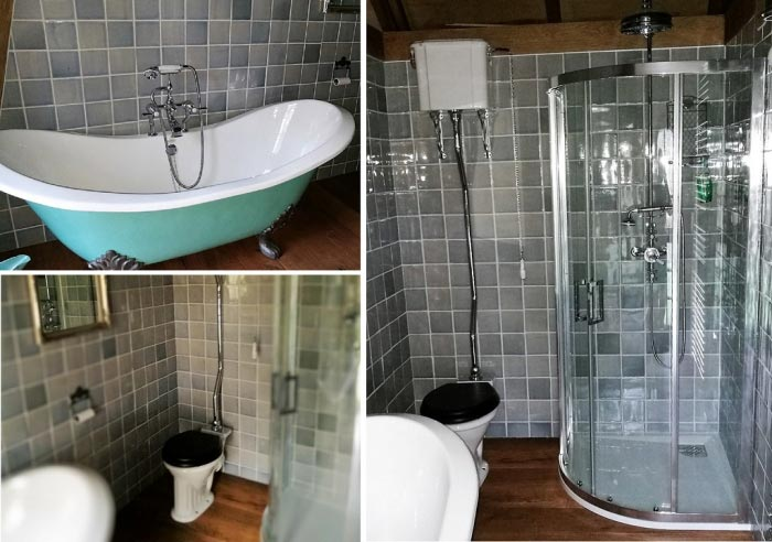 ets alphaouest cr ation d 39 une salle de bain dans r sidence secondaire locunol 29. Black Bedroom Furniture Sets. Home Design Ideas