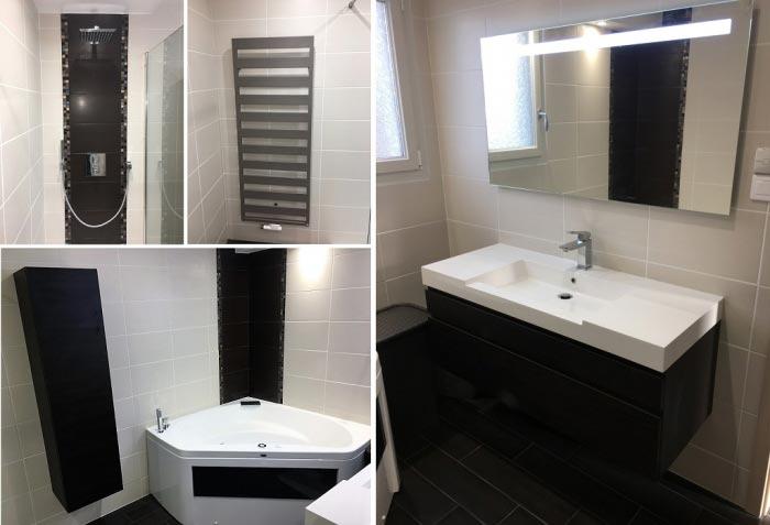 Salle de bain clés en mains à Rugney 88130 Vosges