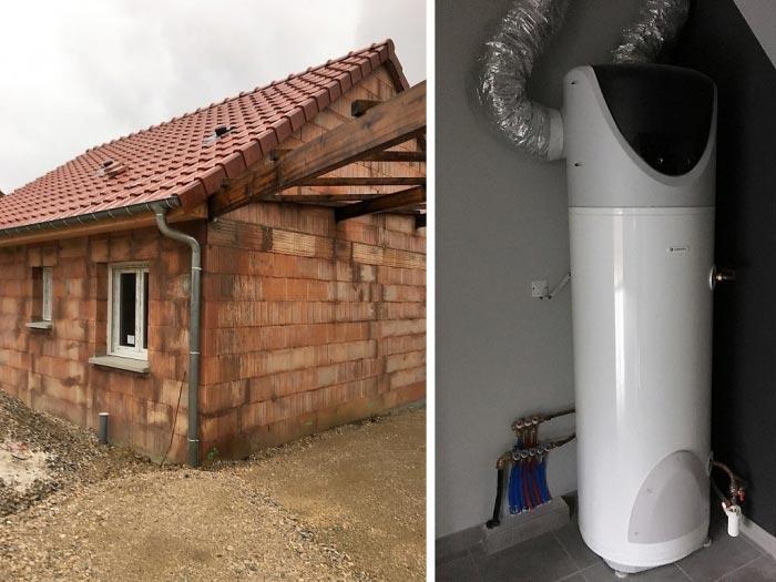 (chauffagiste RGE) chauffe eau thermodynamique Chaffoteaux & Maury à Charmes 88130 Vosges