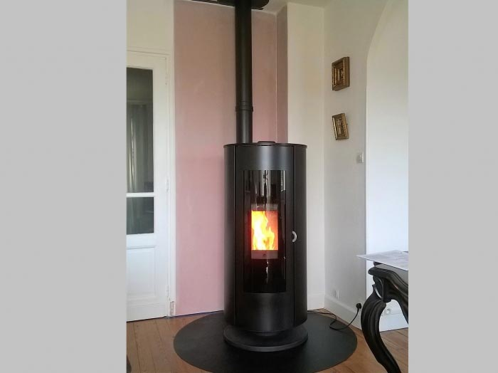 nergies renouvelables d 39 aquitaine pose po le granul s jotul pf 920 marmande 47. Black Bedroom Furniture Sets. Home Design Ideas