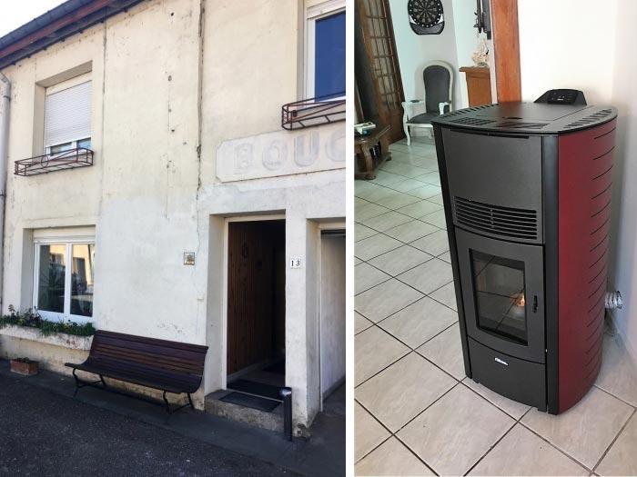Poêle à granulés de bois pellets (chauffagiste) Fonte Flamme ALTI 8 à Thaon les Vosges 88150