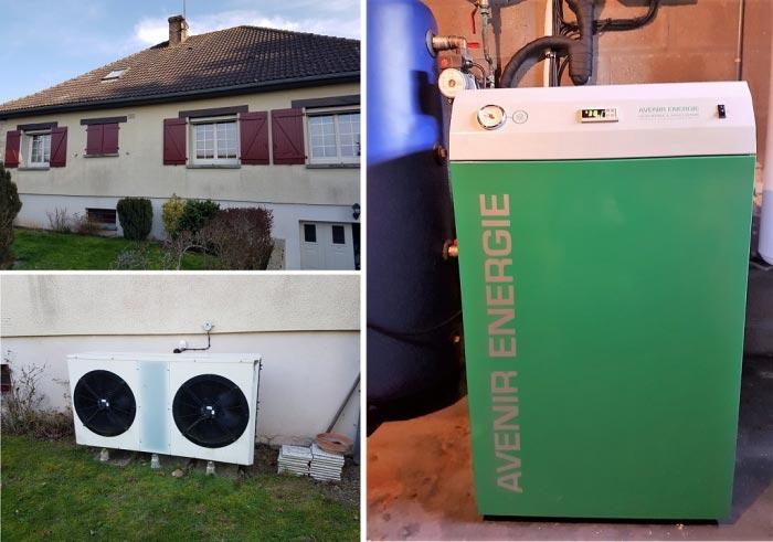 ets robart d pannage pompe chaleur avenir energie boiscommun 45 pompe chaleur air eau. Black Bedroom Furniture Sets. Home Design Ideas