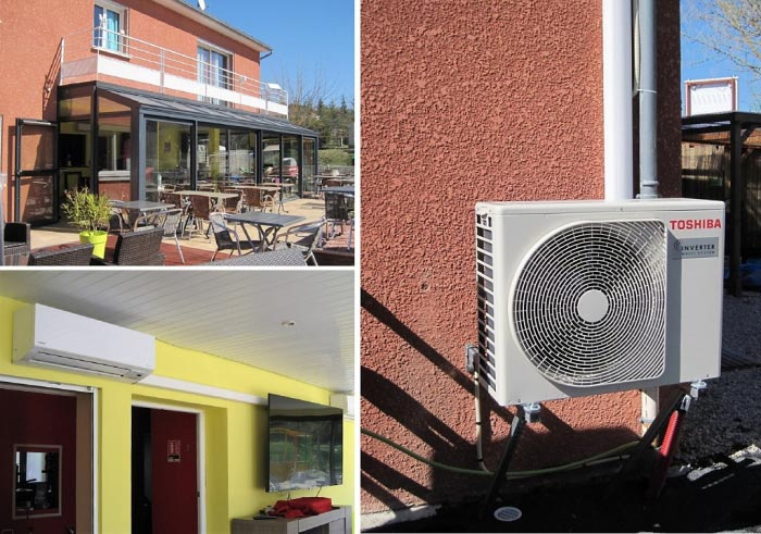 Installateur Qualipac RGE 12 Aveyron 48 lozère - Climatisation réversible Toshiba à Sévérac d'Aveyron-Aveyron (12)