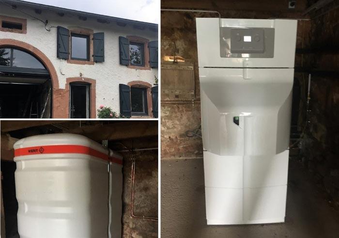Chaudière fioul à condensation haute performance énergétique (chauffagiste) De Dietrich Neovo Condens à Mirecourt 88500 Vosges.