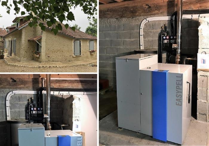 CHAUFFAGISTE RGE BOIS - chaudière à granulés de bois  pellets Easypell - Hautes-Pyrénées - 65000-Hautes Pyrénées (65)