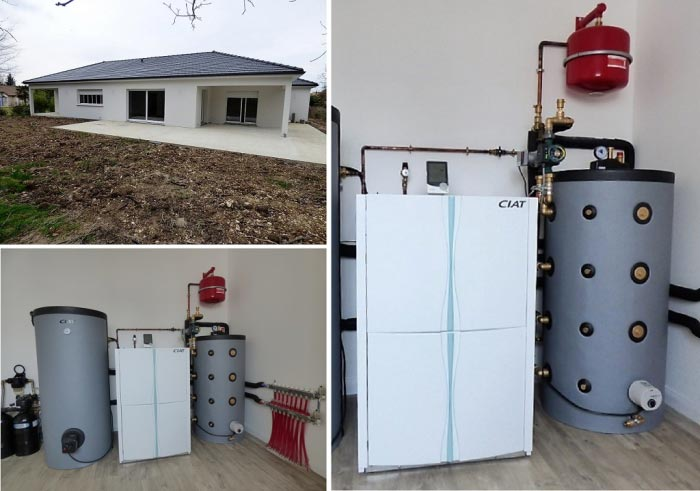 Géothermie, chauffage, eau chaude et rafraîchissement (free-cooling)-Vienne (86)