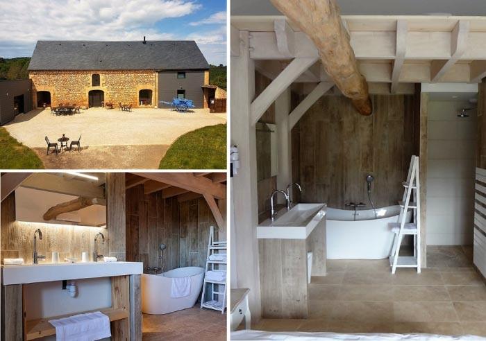 Salle de bain dans gite de charme-Dordogne (24)