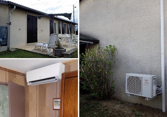 Climatisation réversible ATLANTIC à Jassans Riottier 01 Ain-Ain (01)