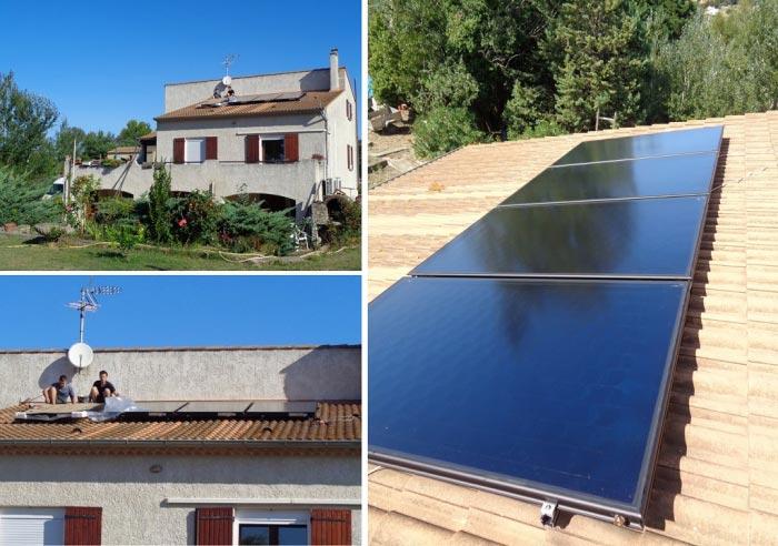 Installateur Qualisolcombi RGE 30 Gard 84 Vaucluse - Installation capteurs solaire thermique à Roquemaure