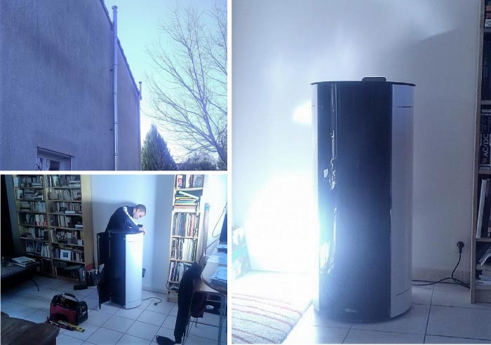 alter energies poele a granule silencieux etanche. Black Bedroom Furniture Sets. Home Design Ideas