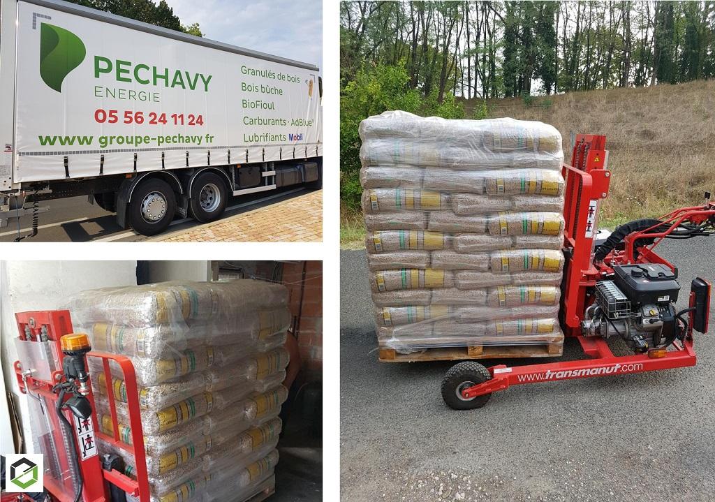 Granulés de bois Premium Péchavy : Livraison rapide et efficace au Pian Médoc (33)