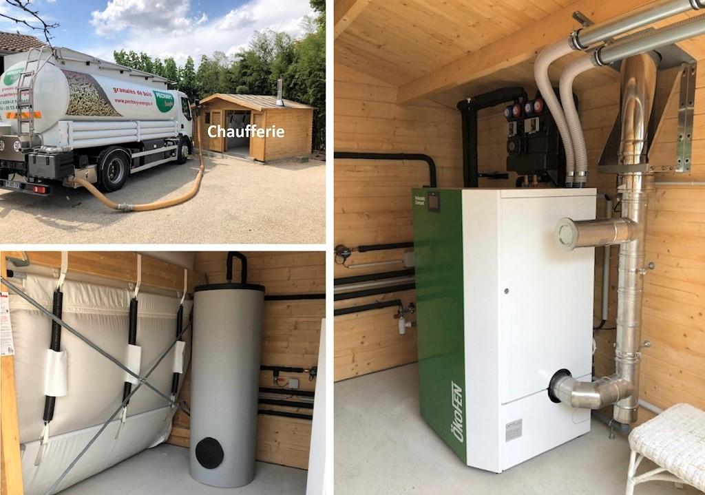 ETS VELLARD - instalallation QualiBois RGE chaudière granulés de bois Okofen compact 10kw. 47-LOT ET GARONNE. AGEN-Lot et Garonne (47)
