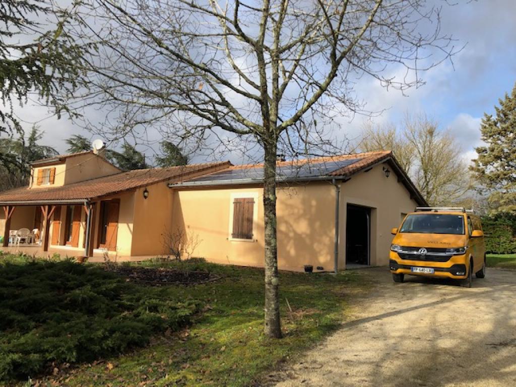 ETS VELLARD - instalallation QualiBois RGE chaudière granulés de bois Okofen compact 10kw. AGEN LOT ET GARONNE-Lot et Garonne (47)