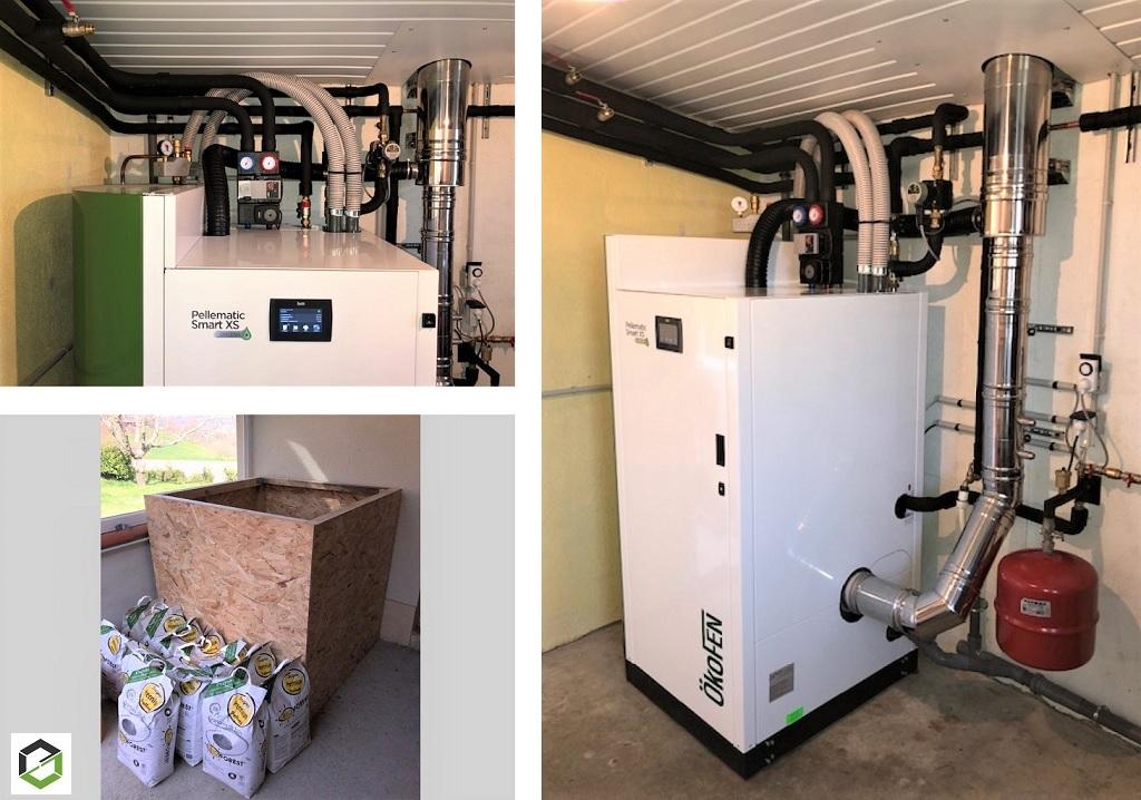 ETS VELLARD Chauffage Installation QualiBois RGE chaudière granulés de bois Okofen SMART XS