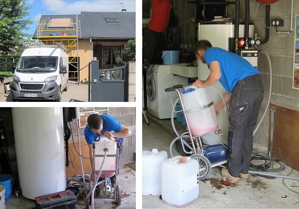 Entretien maintenance chauffe eau solaire  -Aveyron (12)