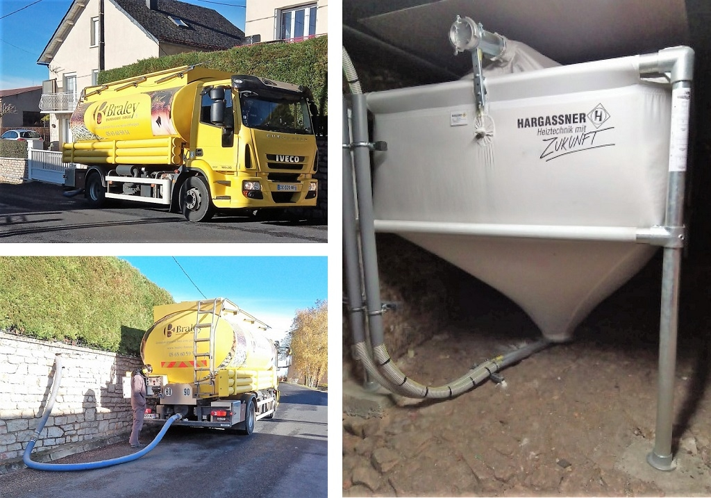 Livraison granulés de bois Pellets en vrac suite installation chaudière granulés Hargassner-Aveyron (12)