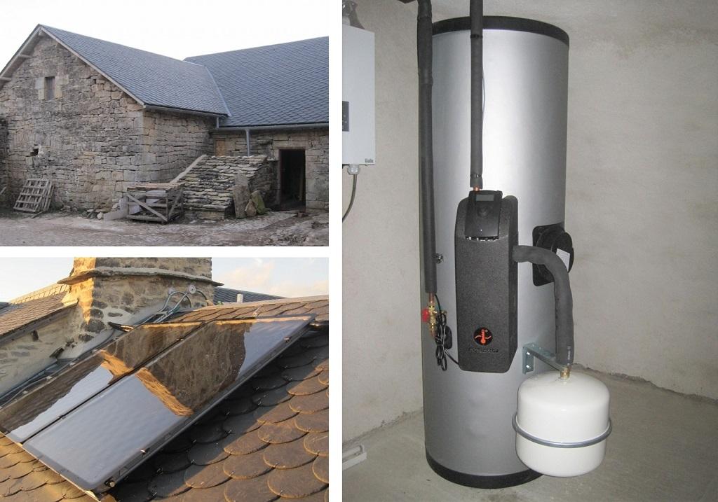 Chauffe eau solaire ( CESI )