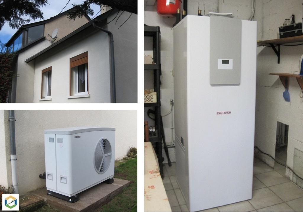 Installation pompe à chaleur PAC Aérothermie Air/Eau Stiebel Eltron - Artisan Qualipac RGE-Aveyron (12)
