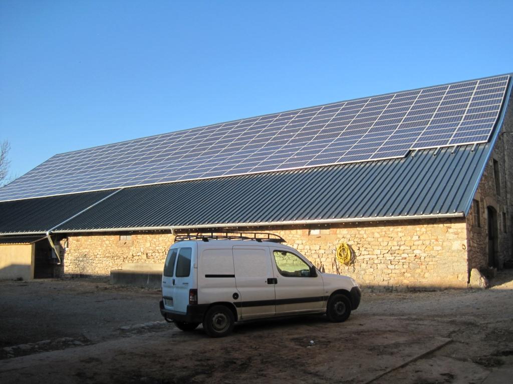 Production d'électricité solaire photovoltaïque dans le 12 Aveyron-Aveyron (12)