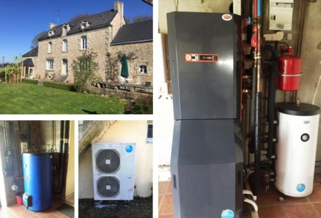 Installation Pompe à Chaleur ( PAC ) 56 Morbihan LANGUIDIC-Morbihan (56)