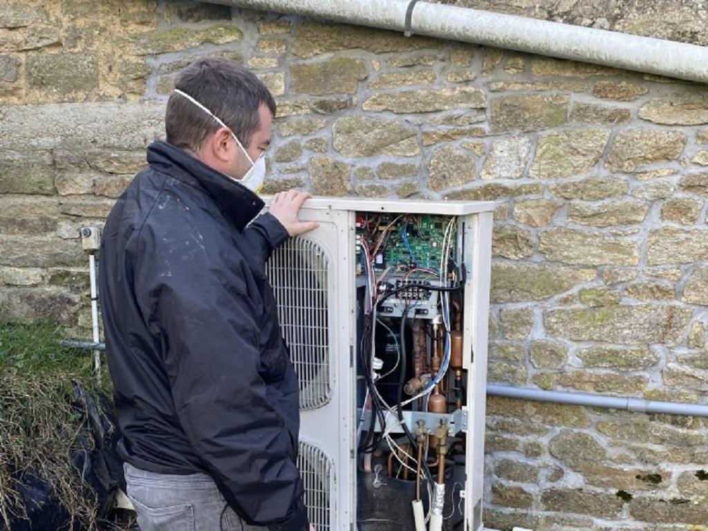 Dépannage et réparation pompe à chaleur airpac
